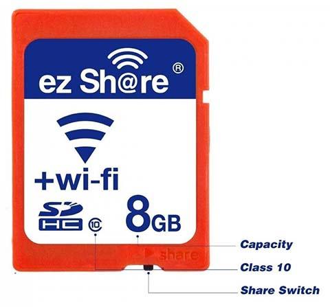Memory Card SD Wi-Fi 3