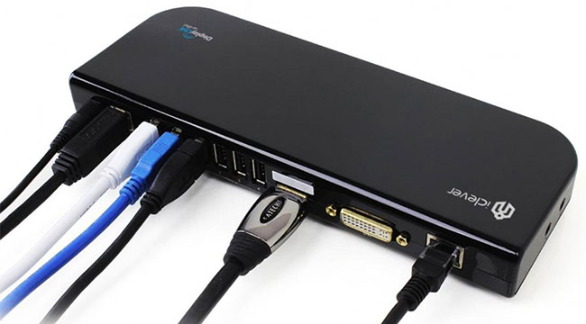 Dock USB 3.0 iClever 3
