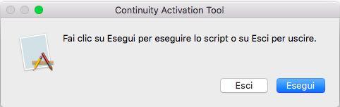 Continuity su Mac non supportati 3