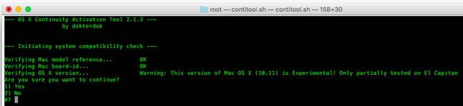 Continuity su Mac non supportati 5