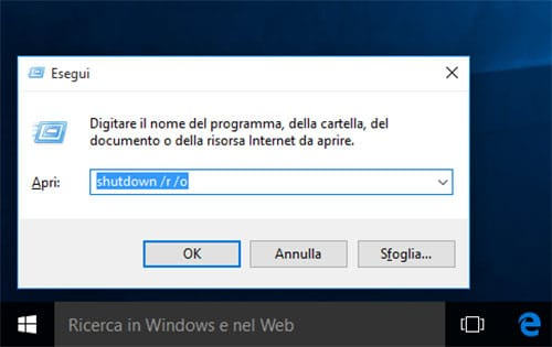 disattivare verificafirma driver Windows 10 1