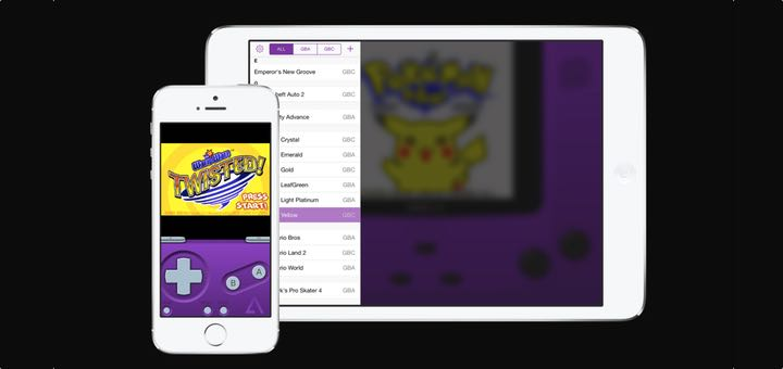 installare emulatore GameBoy su iOS 9 logo