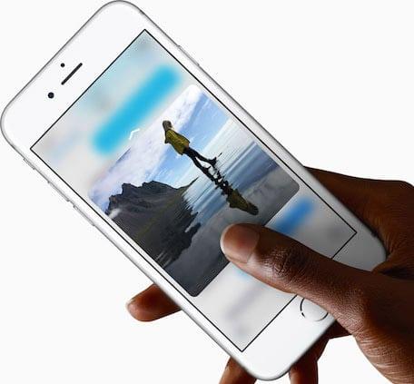 funzioni di iPhone 6S 1