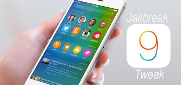 tweak jailbreak iOS 9 logo
