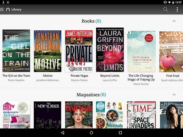 eBook Reader per Android 10