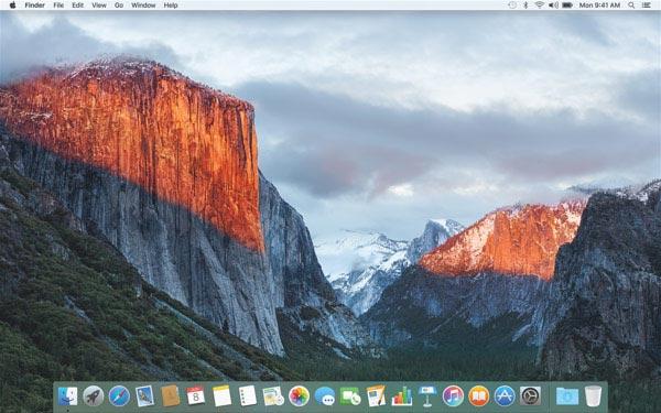 OS X El Capitan Hackintosh su PC 7