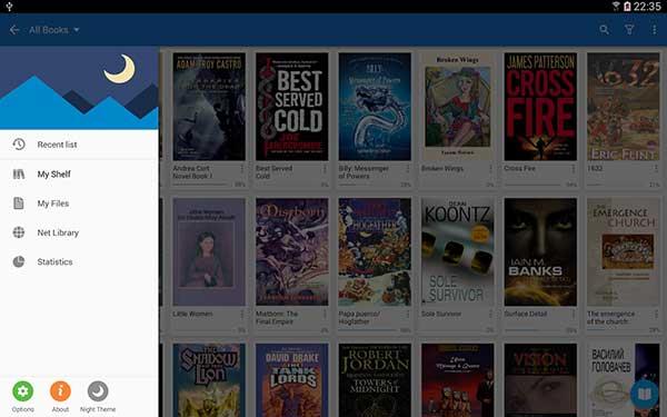 eBook Reader per Android 2