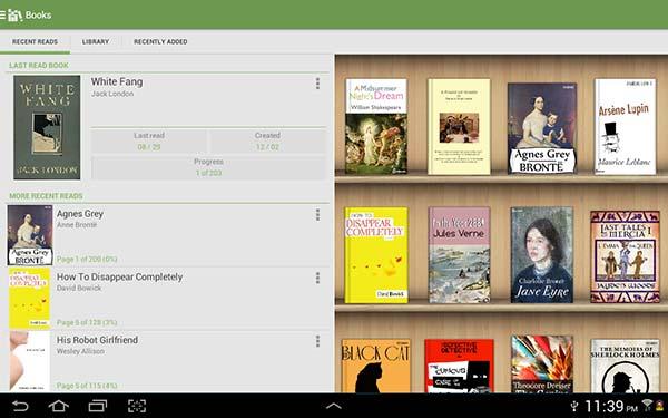 eBook Reader per Android 3