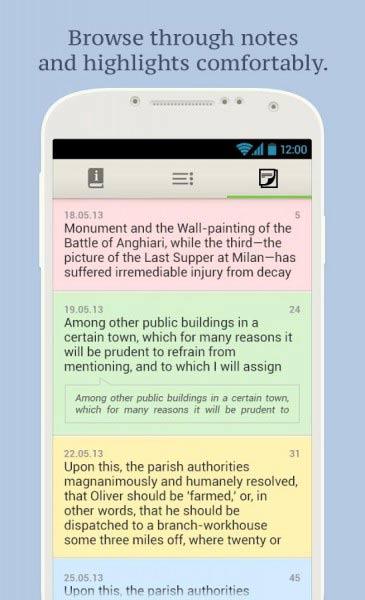 eBook Reader per Android 4