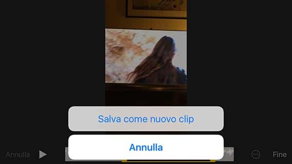 clip video su iPhone 5