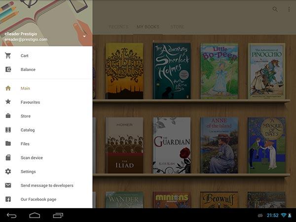 eBook Reader per Android 6