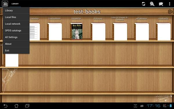eBook Reader per Android 8