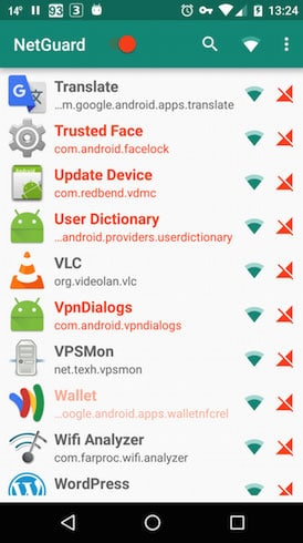 Firewall per Android 0