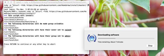 ADB e Fastboot su Mac 1