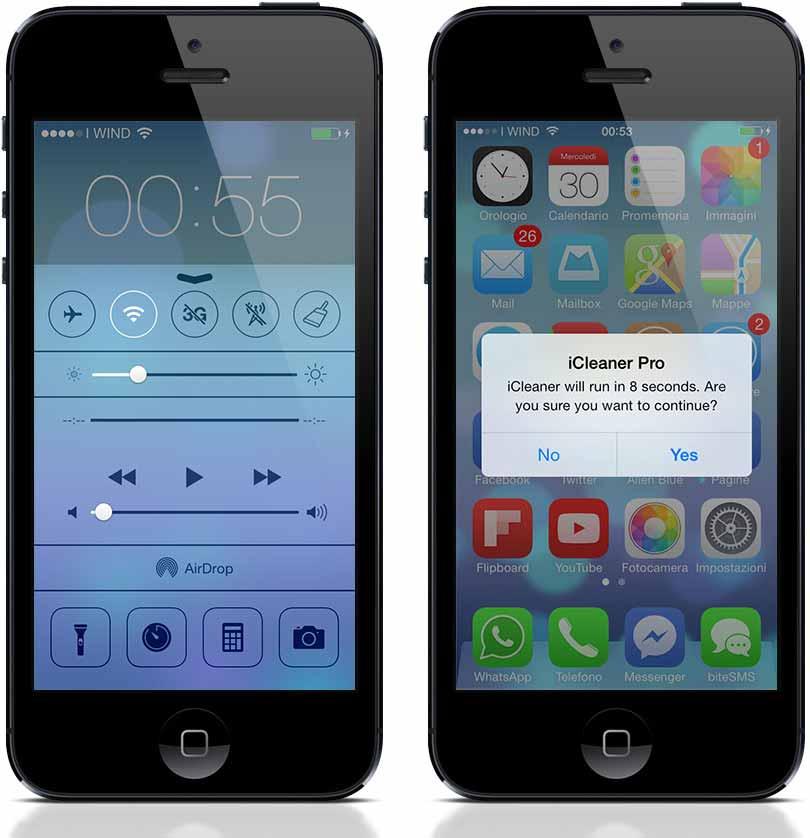iCleaner Pro iOS 9 1