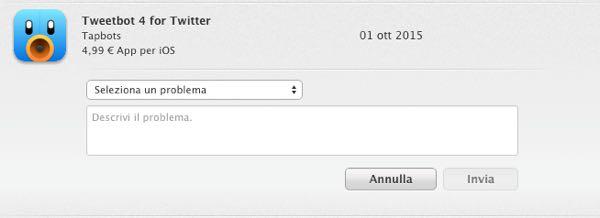 rimborso app iOS-5
