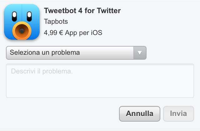 rimborso app iOS-7