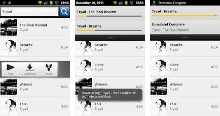 scaricare musica su Android 2