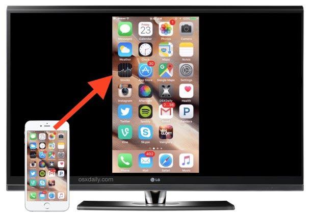 collegare iPhone e iPad alla TV 1