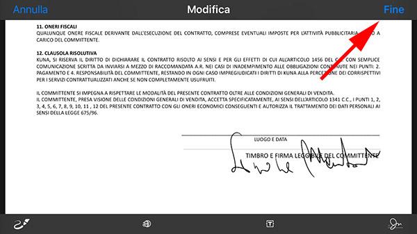 firmare documentisu iPhone 7