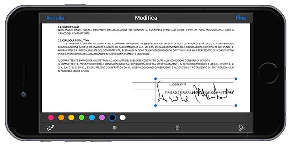 firmare documentisu iPhone 1