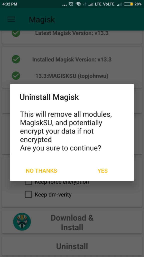 Magisk Manager 17