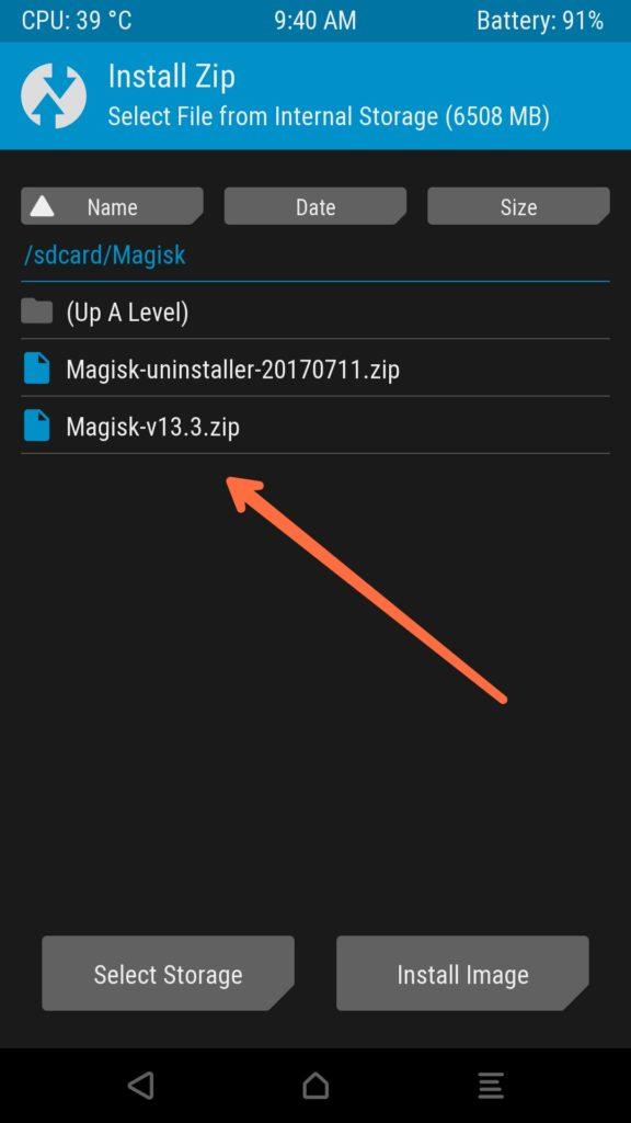 Magisk Manager 6