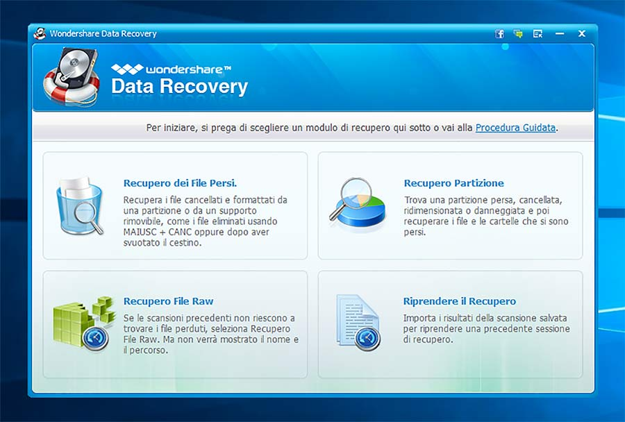 recuperare file cancellati sul Mac data recovery