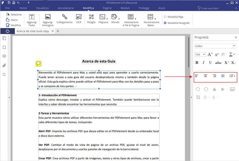modificare i PDF 4