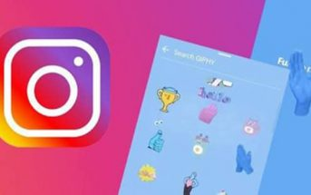 GIF in Instagram Storie