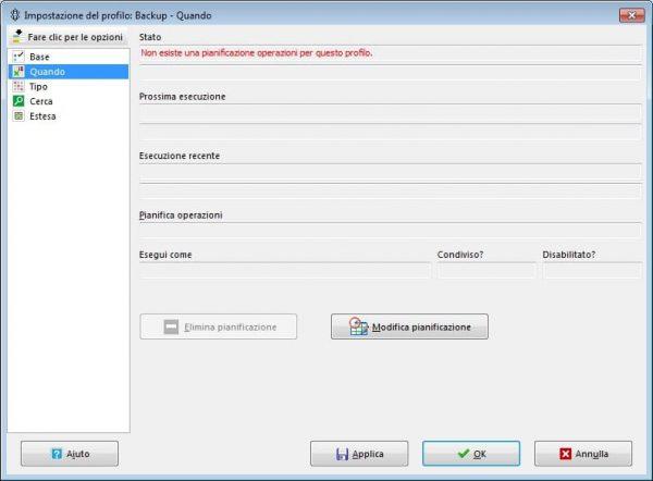 Backup automatico su Windows