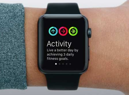 backup di Apple Watch activity