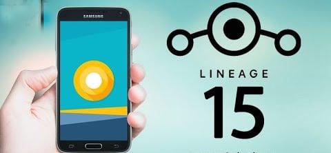 Aggiornamento Galaxy S5 ad Android 8 Oreo