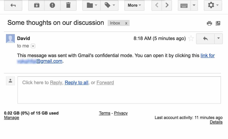 Email autodistruggenti 1