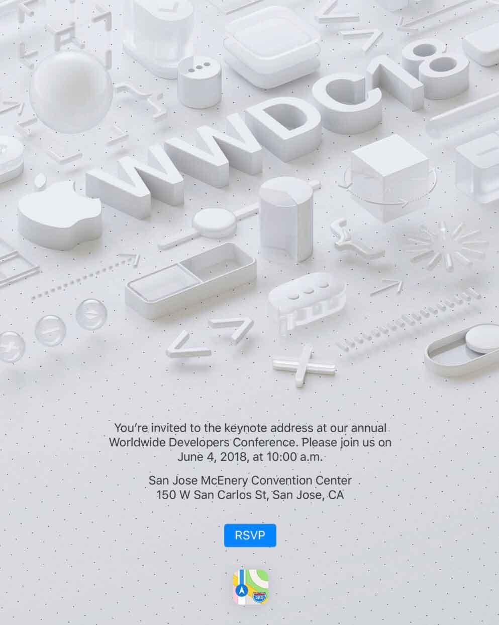 keynote WWDC 2018