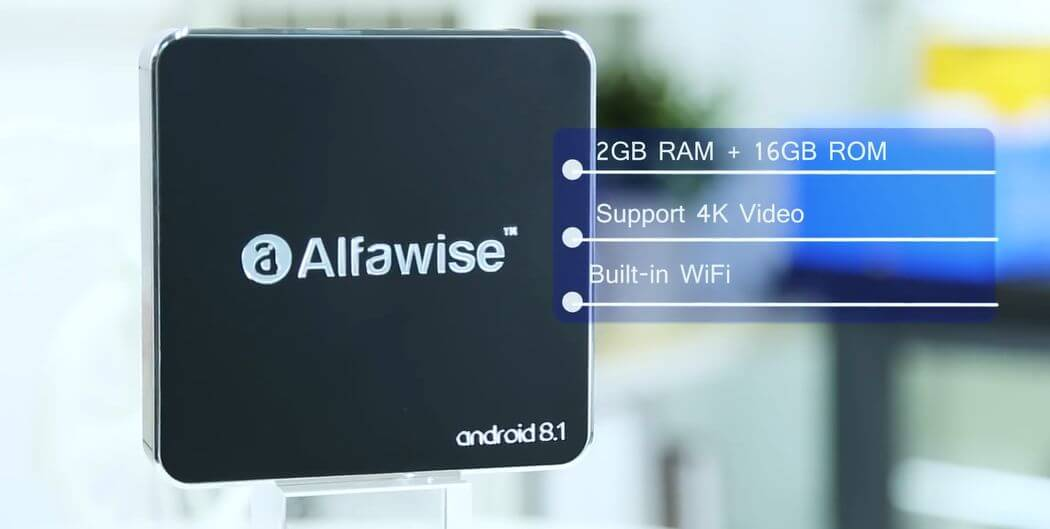 Alfawise A8 box TV