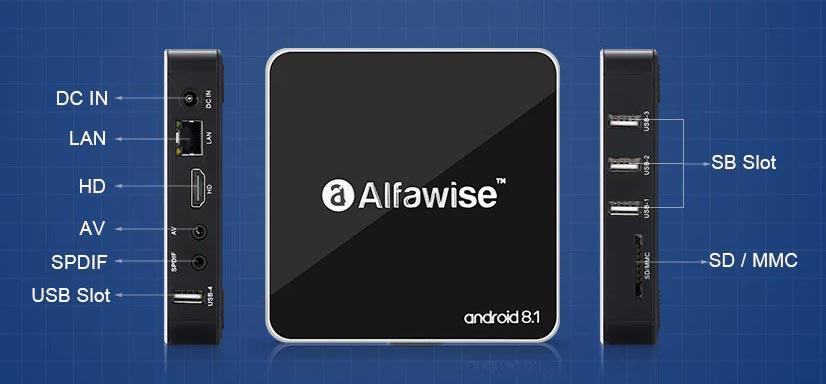 Alfawise A8 PORTE