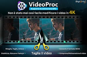 VideoProc per Windows