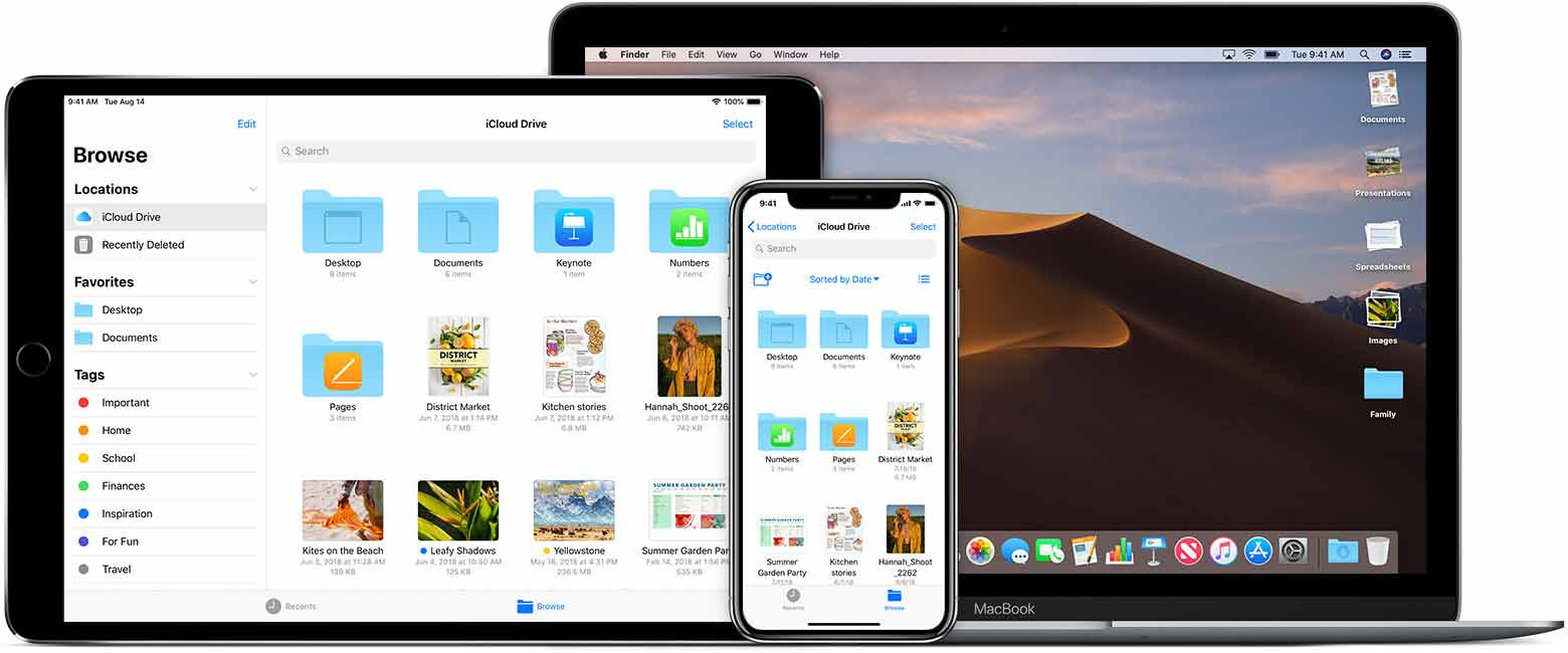 gestire i file su iphone e ipad